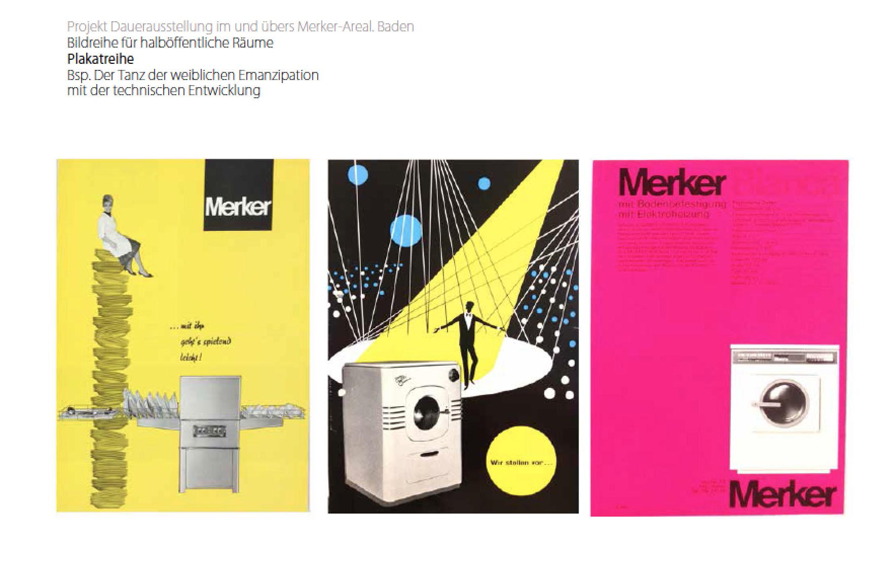 Merker-Areal, Baden